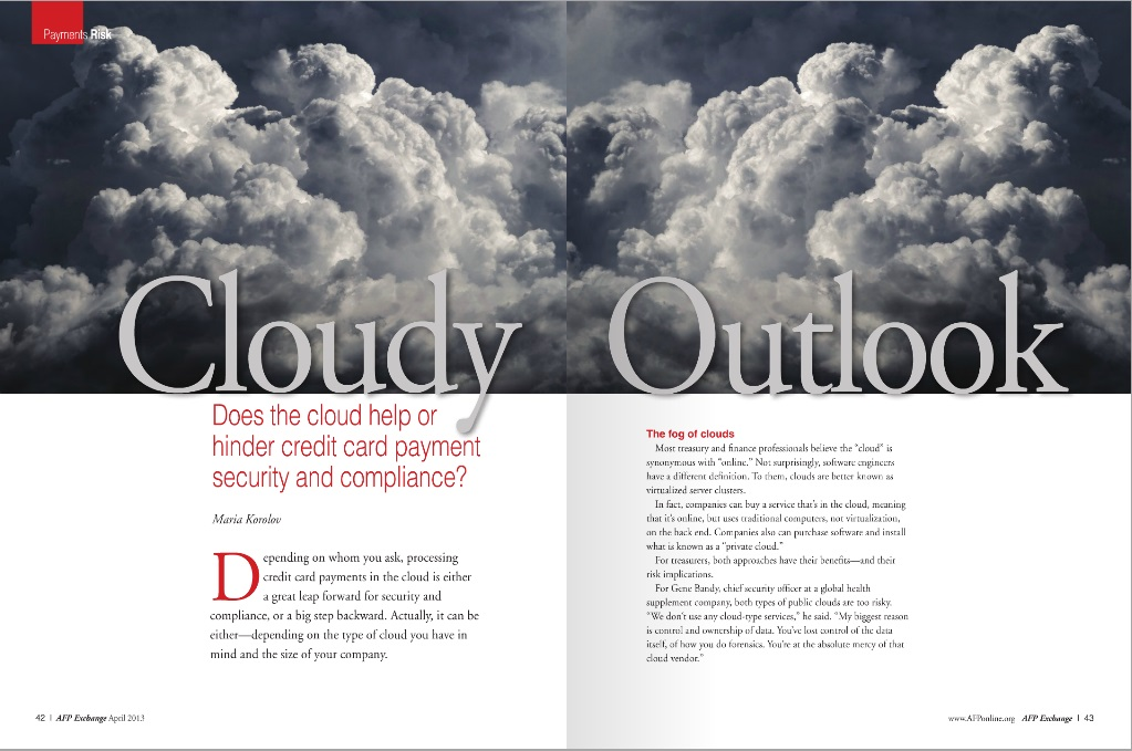 Cloudy Outlook Apr 2013
