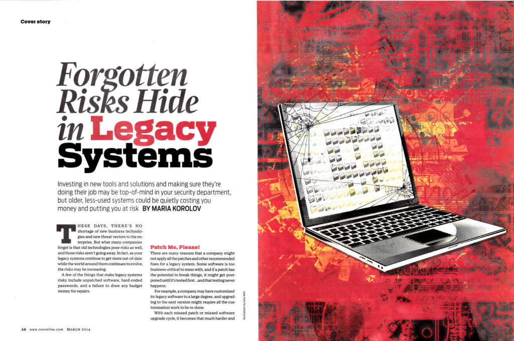 CSO Forgotten Risks in Legacy Systems