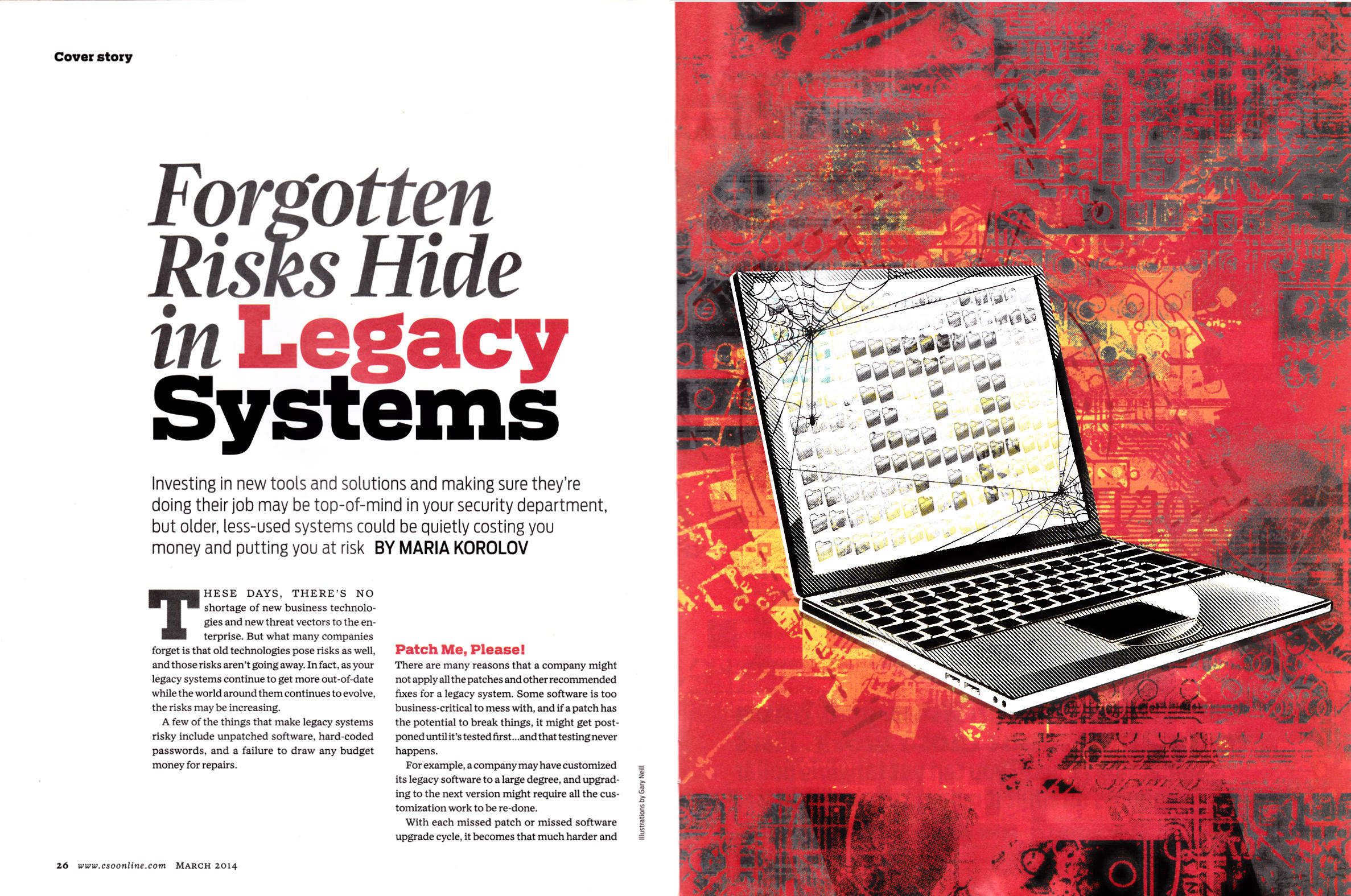 Forgotten risks hide in legacy systems