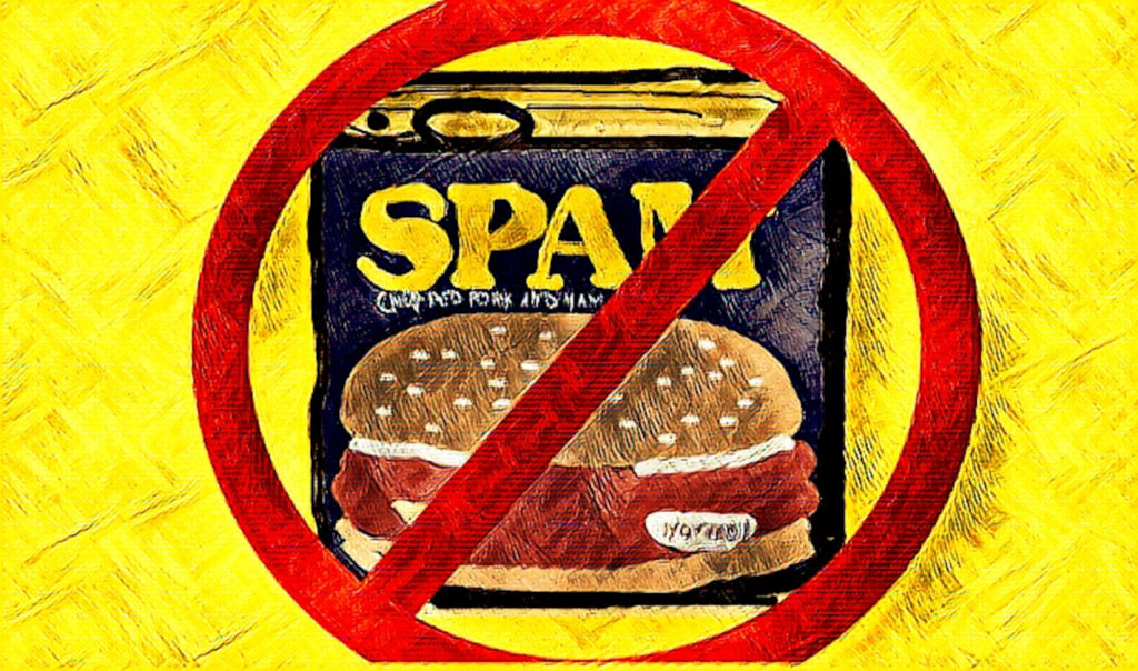 No Spam illustration by Keith Cassatt