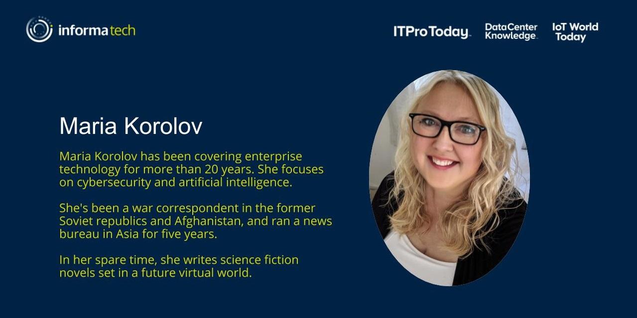 Maria Korolov Slide