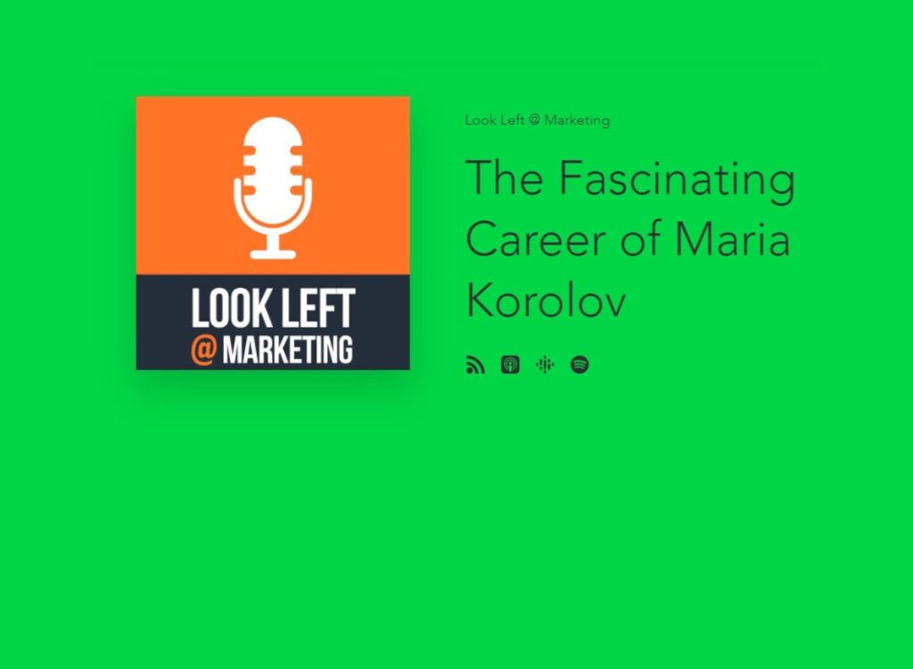 Look Left podcast