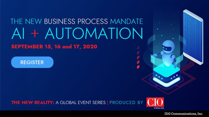 CIO Magazine New Reality Event