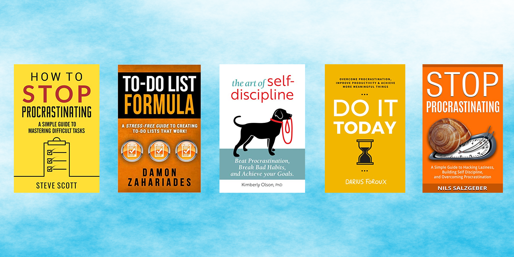 The best free* books to help you battle procrastination