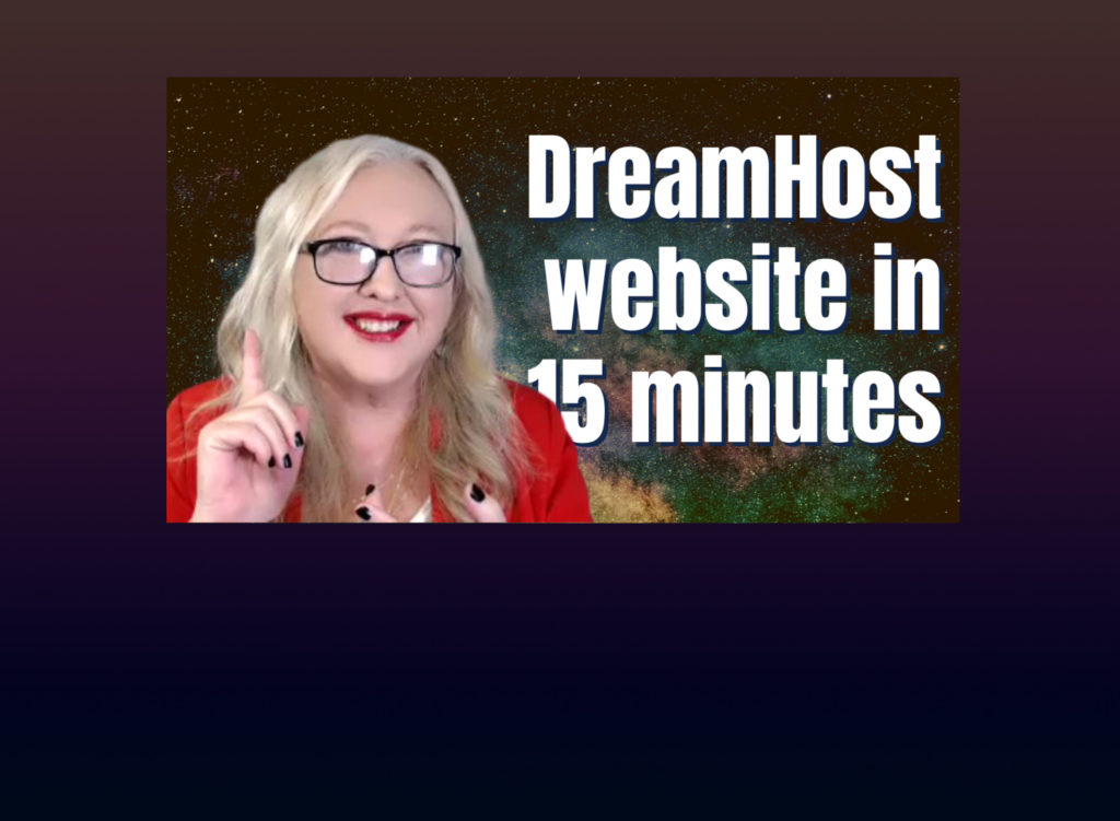 MetaStellar video: Setting up a WordPress website with DreamHost in 15 minutes